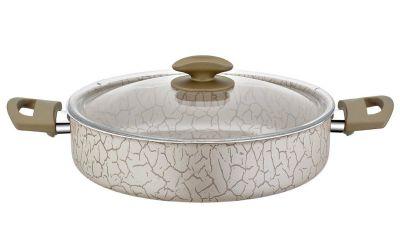 Papilla Desert Karnıyarık Tencere 30 cm Magma Desen