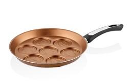 Papilla - Papilla Redio 28 Cm Emoji Pancake & MücverTavası, Bakır