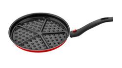 Papilla - Papilla Redio 26 Cm Waffle Tava, kırmızı
